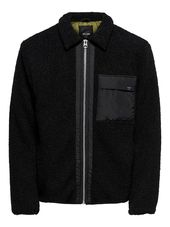 Only & Sons Sherpa Veste Men Black