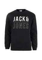 River Island Jack & Jones - Sweatshirt Core Imprimé Bleu Marine