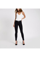 River Island Molly - Jegging Noir Recyclé