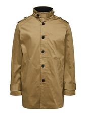 Selected Mi-saison - Manteau Men Brown