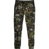 River Island Pantalon De Jogging Slim à Imprimé Baroque Noir