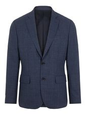 J.lindeberg Hopper Checked Blazer Men Blue
