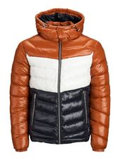 Jack & Jones Capuche Doudoune Men Orange