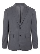 J.lindeberg Hopper Comfort Wool Blazer Men Grey