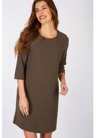 Robe Découpe Géométrique Vert Femme Taille 44 - Scottage