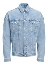 Jack & Jones Oversize Veste En Jean Men Blue