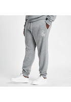 River Island Big & Tall - Pantalon De Jogging Slim Gris Brodé