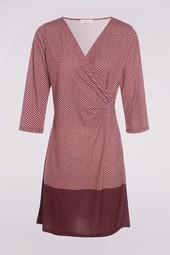 Robe Imprimée Bleu Femme Taille 40 - Scottage