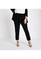 River Island Plus - Pantalon Fuselé Noir Doux