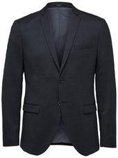 Selected Slim Fit - Blazer Men Grey