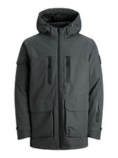 Jack & Jones Poches « napoléon » Parka Men Grey