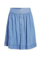 Jupe Fluide Bleu Femme Taille 44 - Scottage