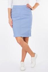 Jupe Droite Bleu Femme Taille 40 - Scottage