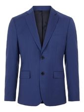 J.lindeberg Hopper Comfort Wool Blazer Men Blue