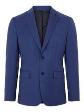 J.lindeberg Hopper Comfort Wool Blazer Men Blue