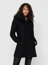 Only Laine Manteau Women Black