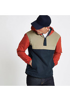 River Island Jack & Jones Originals - Veste Colour-block Marine