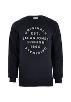 River Island Jack & Jones Originals - Sweatshirt Imprimé Bleu Marine