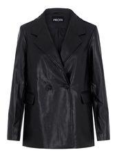 Pieces Coupe Oversize Blazer Women Black