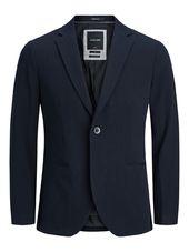 Jack & Jones Simple Boutonnage Blazer Men Blue