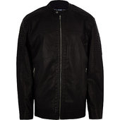 River Island Only & Sons - Big & Tall - Blouson Noir