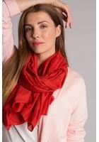 Foulard Jacquard Orange Femme Taille Tu - Scottage