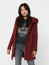 Only Laine Manteau Women Red