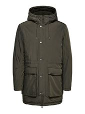 Selected Rembourrée - Parka Men Green