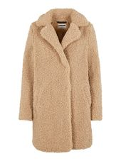 Noisy May Peluche Veste Women Beige