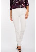 Pantalon Coupe Ajustée Blanc Femme Taille 48 - Scottage