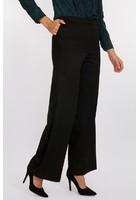 Pantalon Détail Galons Noir Femme Taille 38 - Scottage