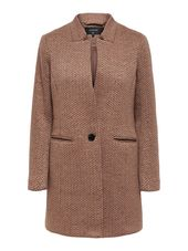Only Classique Coatigan Women Brown