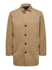 Selected Coton - Manteau Men Brown