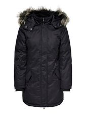 Only Longue Manteau Women Black