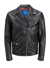Jack & Jones Motard Veste Simili Men Black