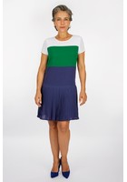 Robe Color Block Bleu Femme Taille 44 - Scottage
