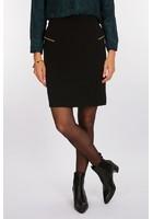 Jupe à Galons Noir Femme Taille 48 - Scottage