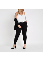 River Island Plus - Molly - Jegging Noir