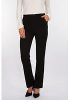Pantalon Droit élastiqué Noir Femme Taille 44 - Scottage