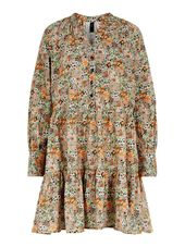 Y.a.s Yasflorala Mini-robe Women Pink