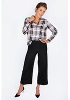Pantalon Palazzo Noir Femme Taille 42 - Scottage
