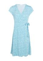 Robe Imprimée Bleu Femme Taille 1 - Scottage