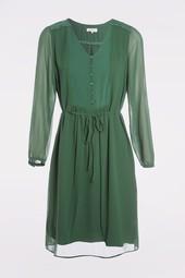Robe Fluide Vert Femme Taille 46 - Scottage
