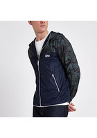 River Island Jack & Jones Originals - Veste Camouflage Verte
