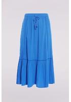 Jupon Brodé Bleu Femme Taille 40 - Scottage