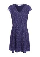 Robe Imprimé à Pois Bleu Femme Taille 40 - Scottage