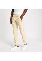 River Island Pantalon De Jogging Slim écru Brodé