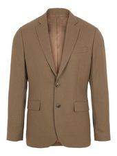 J.lindeberg Hopper Combat Wool Blazer Men Brown