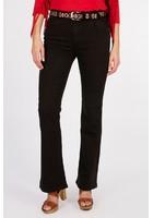 Pantalon Bootcut Noir Femme Taille 42 - Scottage