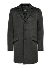 Only & Sons Laine Manteau Men Grey